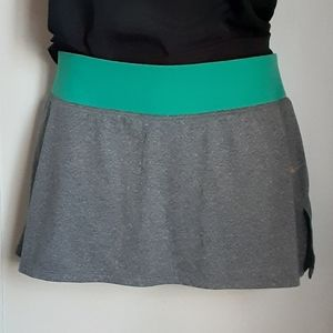 Dri-fit Nike skirt with shorts under